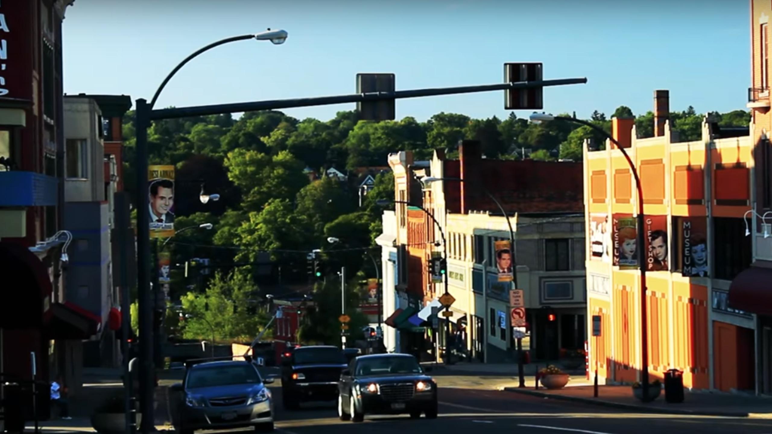City of Jamestown NY Main Street