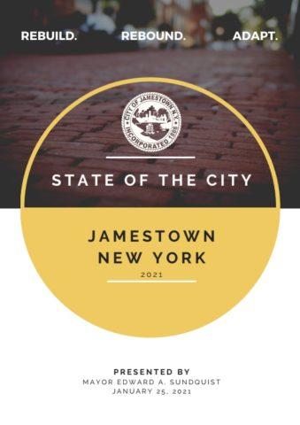 2021 State of the City Cover