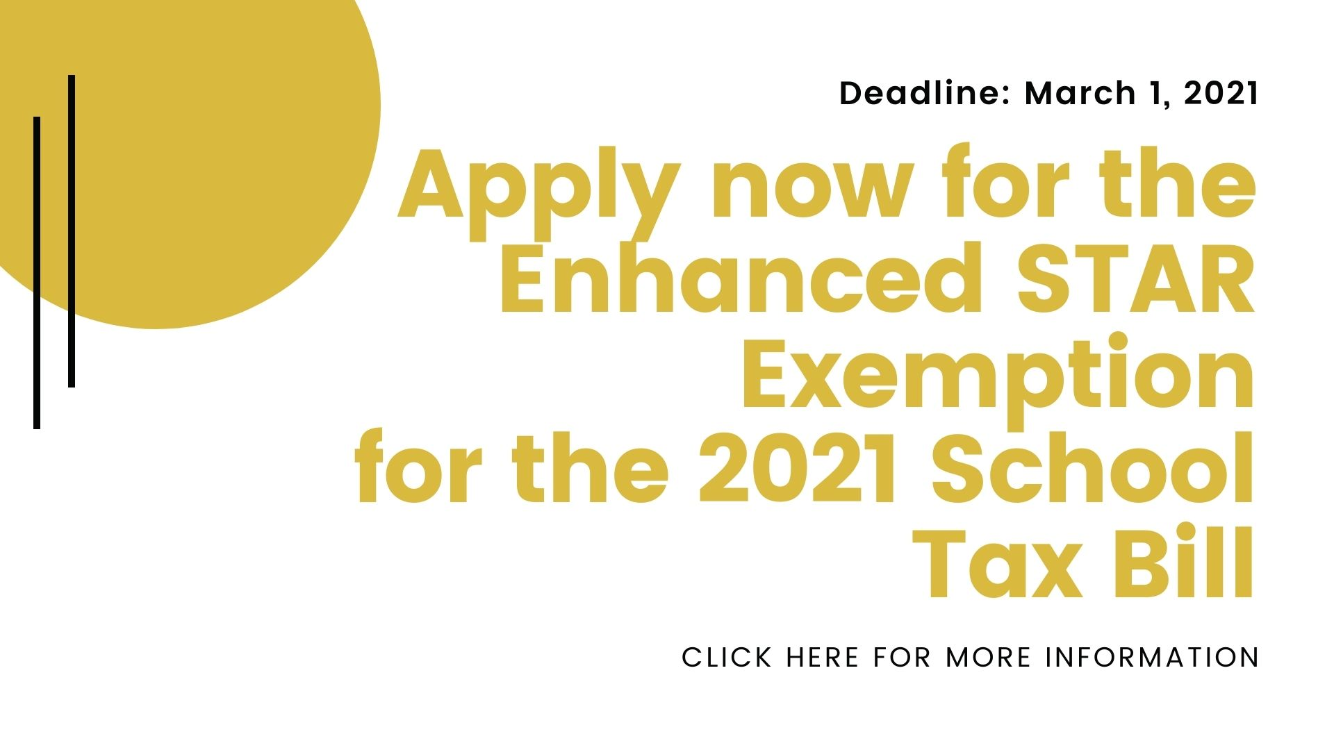 Star Exemption 2021 Due